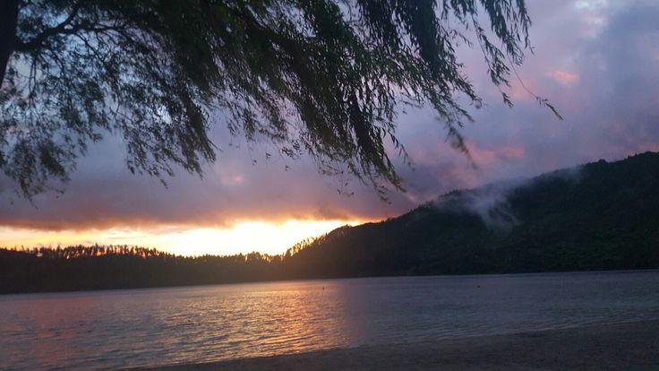 Lake Tikitapu (Blue Lake) Rotorua NZ