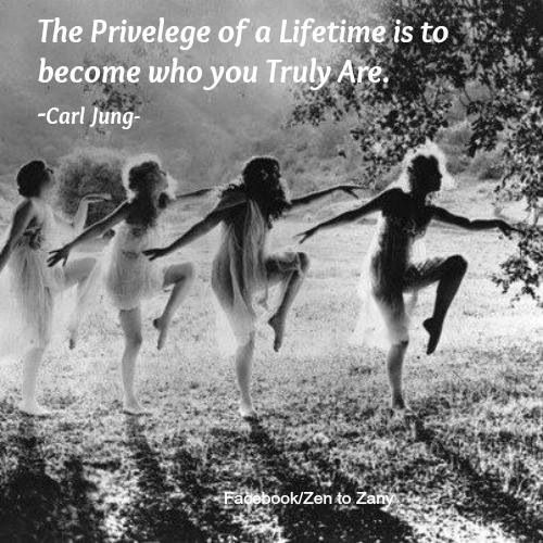 Image result for is to be who we truly are carl jung image