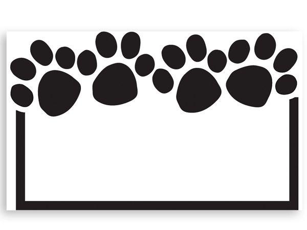 Paw Print Enclosure Gift Card 3 5x2 25