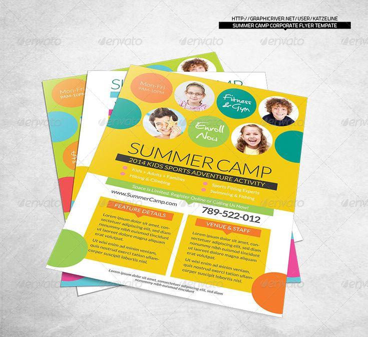 Best 25+ Pamphlet template ideas on Pinterest Leaflet template - summer camp flyer template