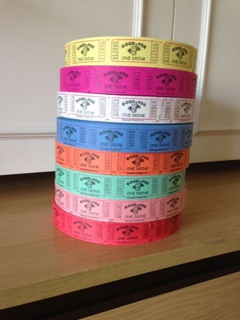 50 or 100 drinks tokens #vouchers tickets #wedding favours party #celebration fai,  View more on the LINK: http://www.zeppy.io/product/gb/2/112204242317/
