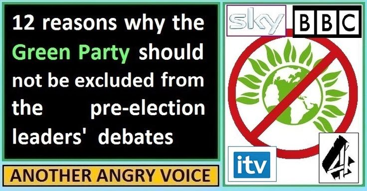 12 reasons the Green Party should be included in the leaders' debates