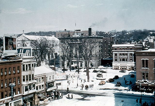 Downtown Waterbury, Connecticut (1950's / 1960's)
