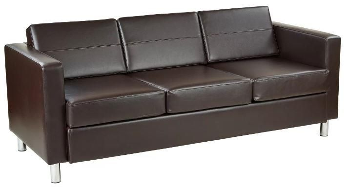8 Dark Brown Faux Leather Couch Options To Buy 2020 Faux Leather Sofa Leather Sofa Couch Sofa Upholstery