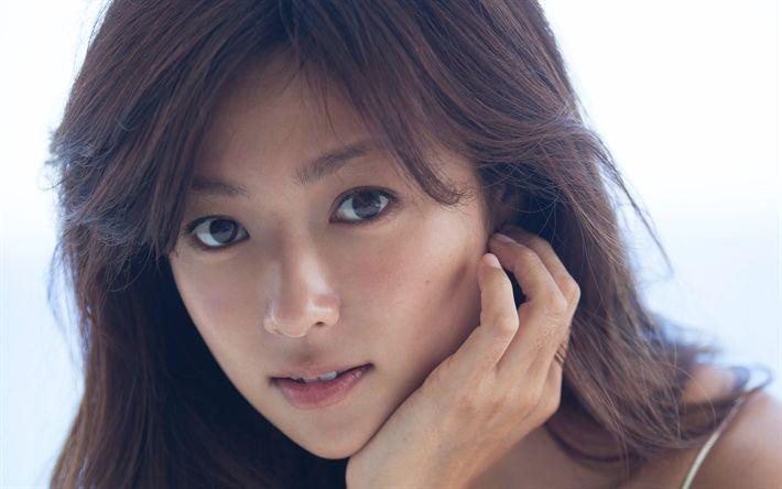 Download wallpapers Kyoko Fukada, Japanese actress, Japanese woman, Portrait
