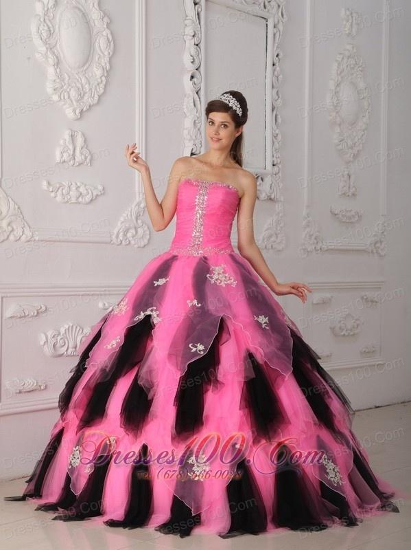 17 Best ideas about Black Quinceanera Dresses on Pinterest ...