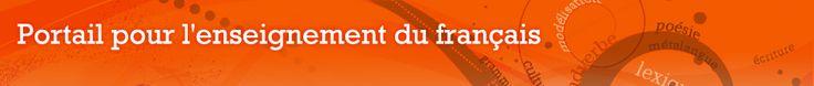 Ce portail est empli d'outils didactiques pour les enseignants de français, et ce, du primaire au collégial. Puisqu'il s'agit d'un site officiel, il respecte les normes du ministère de l'Éducation, du Loisir et du Sport. De ce fait, tous les outils qui s'y trouvent peuvent être utilisés dans un cadre professionnel.