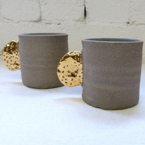 Bridget Bodenham - Gold Handled Cup