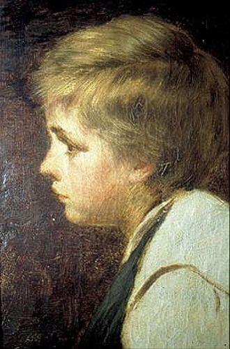 Adolescente - Pedro Lira (1845 – 1912, Chilean)