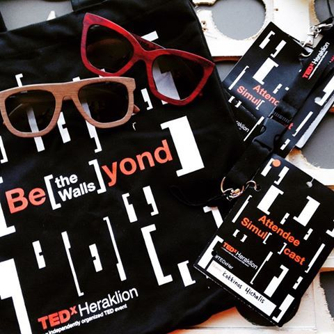 Double O Sunglasses team attended TEDx Heraklion 2015!Thank you for the great show...can't wait for the next one!