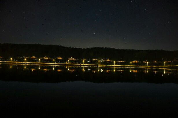 Harbour at nigth
