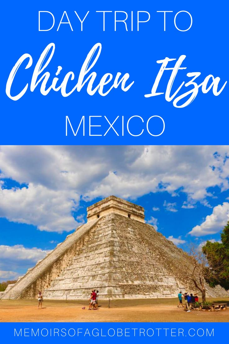 Take a day trip from Cancun and