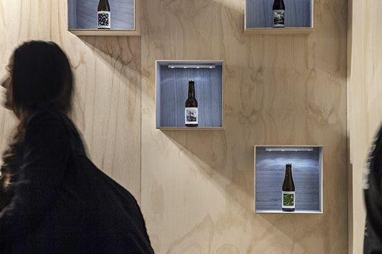 O/O Pop Up Bar at Gothenburg Beer and Whiskey festival 2015. Design by Emma Magnusson, Angelina Kjellén