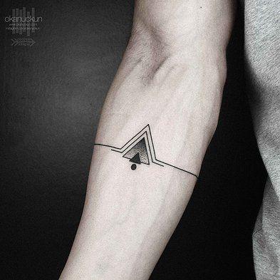 Awesome triangle tattoo