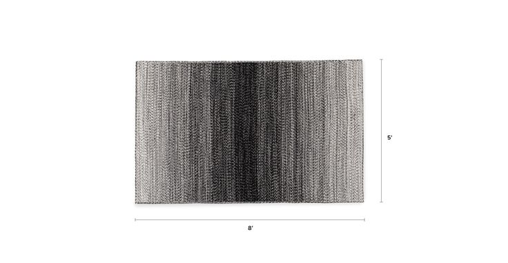 Stria Outdoor Black / White Rug 5 x 8 - 5 x 8 Rugs - Article | Modern, Mid-Century and Scandinavian Furniture