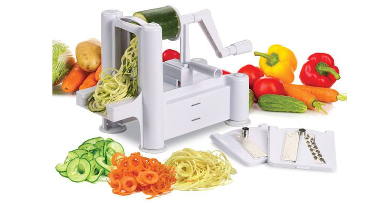The Avanti Spiretti Spiral Vegetable and Fruit Slicer offers a new twist on…