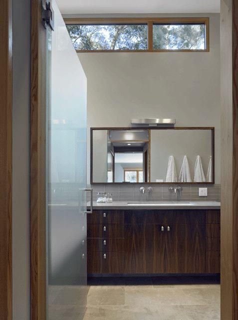 Clerestory windows: Mills Valley, Bathroom Makeovers, Yamamar Design, Valley Houses, Bathroom Ideas, Design Studios, Bathroom Window, San Francisco, Modern Bathrooms