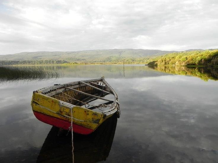 Lago Huelde, Cucao, Chiloé. Foto de Ivana Arévalo Meneses.