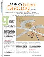 A Guide to Pattern Grading PDF Download (Vogue Pattern Magazine Feb/March 2006 http://voguepatterns.mccall.com/filebin/pdf/Articles/VPMFM06_Guide_Pattern_Grading.pdf)