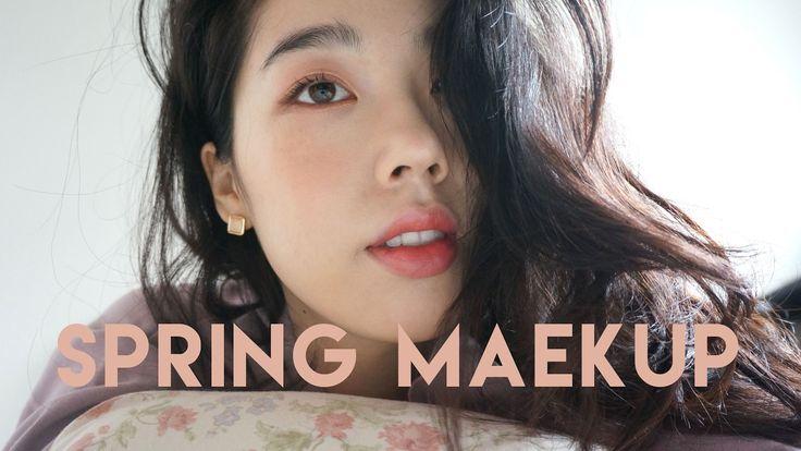 ENG SUB) 봄 메이크업!! SPRING MAKEUP :)