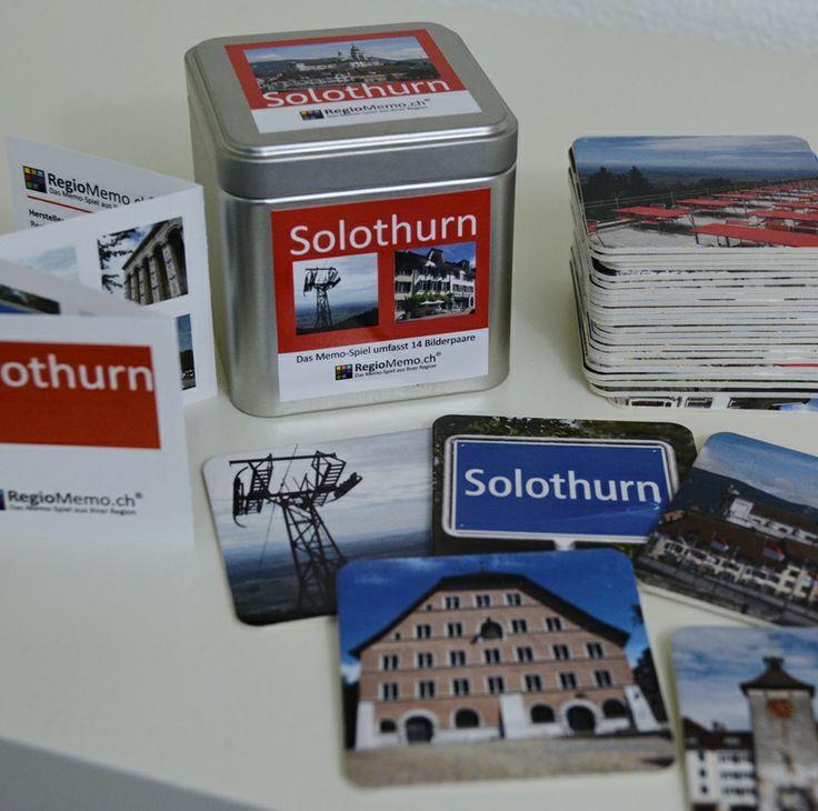 RegioMemo der Stadt Solothurn. 14 Sujets der Stadt und vom Hausberg Weissenstein.   CHF 25.00