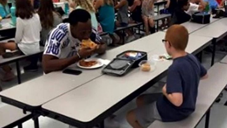 Here is a remarkable story about a young boy with autism and his encounter with a FSU football player. This article & video relates well to our class discussions upon the isolation and bullying among students with disabilities.