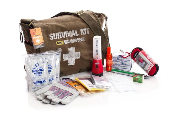 Walking Dead Survival Kit - Zombie Apocalypse Survival Kit - First My Family