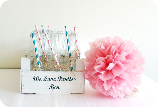We Love Parties Bcn: Pompones de papel de seda