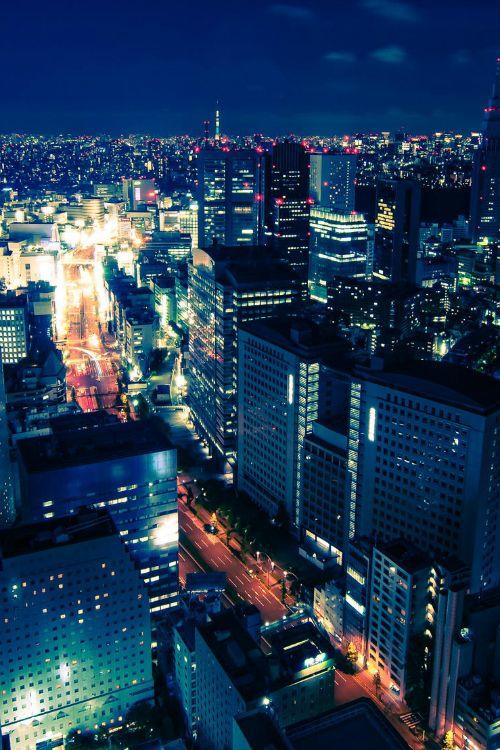 Tokyo at Night  By Jason Waltman