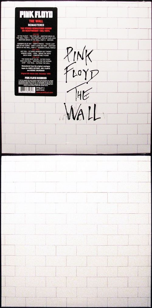 Music Albums: Pink Floyd - The Wall (Remastered 180G Vinyl 2Lp) New -> BUY IT NOW ONLY: $32.95 on eBay!