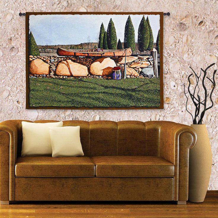 Indian Summer   Bob Timberlake   Wall Tapestry   53 x 36