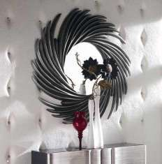 Espejos Decorativos : Colección CRONOS plata