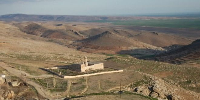 Syriac records indicate that this Syriac Orthodox church dates no earlier than the late 5th century. The bell tower stands on a 10th-century bastion, while the tombs in the vaulted crypt date from the 2nd century. While the underground chamber is pre- Christian, the church itself is thought to have been built in 495. #Mardin #Travel