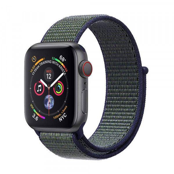 Watch Armband Apple Nylon Dark Strap Fog 4244mm P0w8OXnk