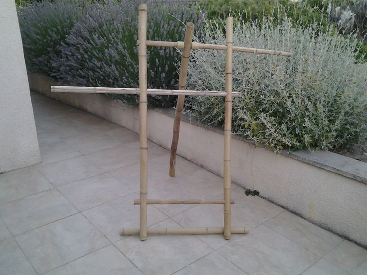 25 parasta ideaa porte serviette bambou pinterestiss - Echelle bambou leroy merlin ...
