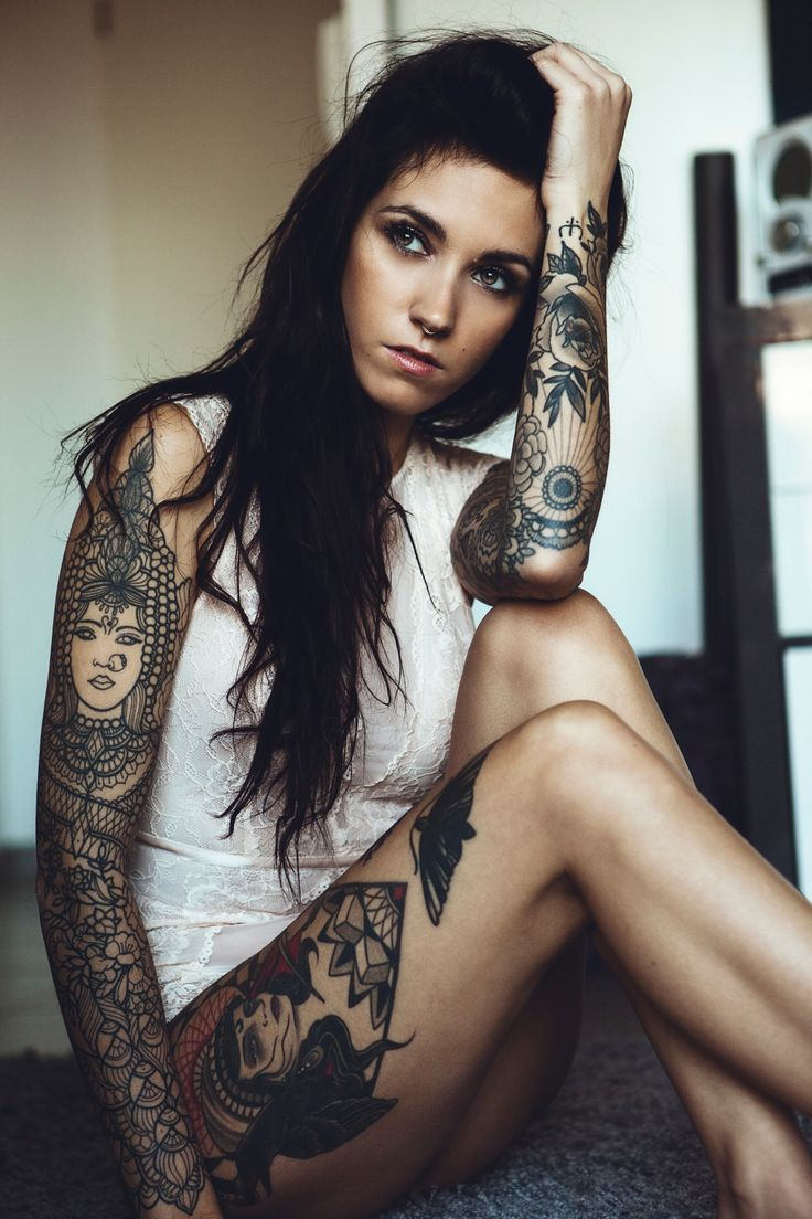 Beautiful tattooed and nice ass is perfect 3