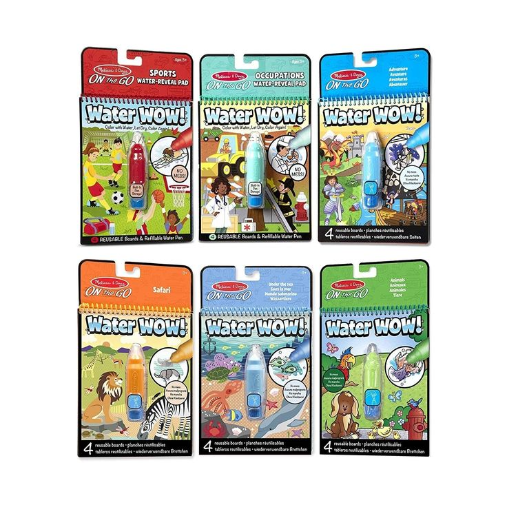 Water Wow6Pack Sports, Occupations, Adventure, Safari, Under the Sea, Animals | Overstock.com Shopping – The Best Deals on Early Development