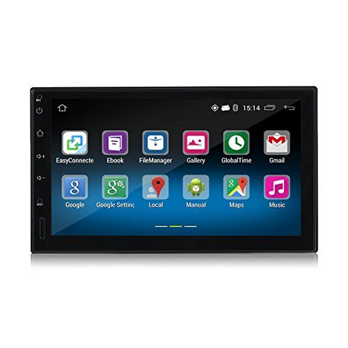 Android Car Player,LESHP Double 2DIN Android 5.1 Car Radio Stereo 7 Inch Touch Screen High Definition 1024x600 GPS Navigation Bluetooth USB SD Player 1G DDR3 + 16G NAND Memory Flash for Car, Truck - http://www.caraccessoriesonlinemarket.com/android-car-player%ef%bc%8cleshp-double-2din-android-5-1-car-radio-stereo-7-inch-touch-screen-high-definition-1024x600-gps-navigation-bluetooth-usb-sd-player-1g-ddr3-16g-nand-memory-flash-for-car-t/  #1024X600, #2Din, #Android, #Blueto