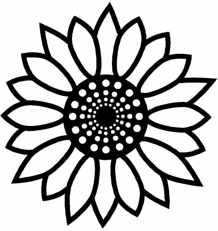 The 25+ best Sunflower coloring pages ideas on Pinterest ...