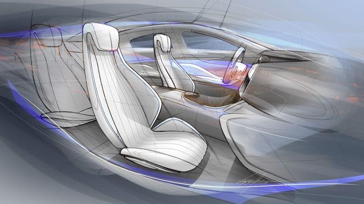 [자동차 스케치] 2016 메르세데스 벤츠 컨셉 IAA 스케치, 렌더링 : 2015 Mercedes Benz Concept IAA : 네이버 블로그