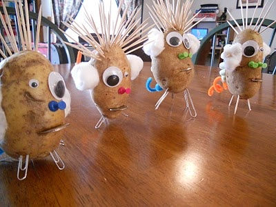 Build-a-spud workshop - Mendelian Genetics