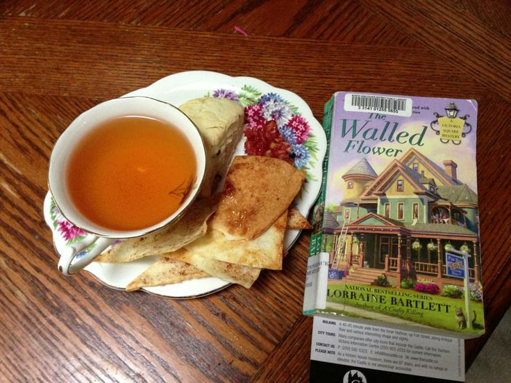 Yummy Afternoon tea and A Great Mystery Series!