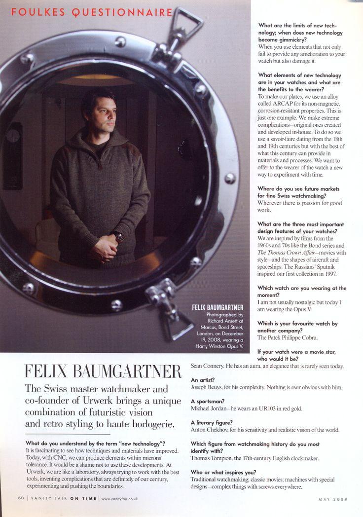 Vanity Fair On Time May 2009
