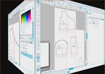 Utilisation de silhouette studio pour découper un patron de couture