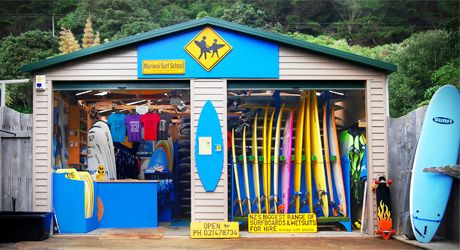 Muriwai Surf School Shed