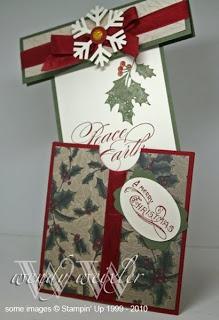 Cute Christmas card Present look