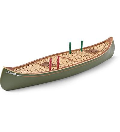 canoe cribbage board - um, this is really cool, right @Rachael Del Re?