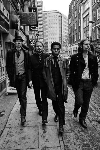 Vintage Trouble. Just listened to these guy's they are brilliant :)