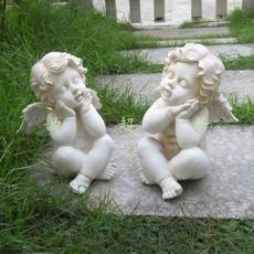 Христианские религиозные ремесла ремесла украшения смолы ангел украшения маленький ангел мальчик ангел украшения украшения M