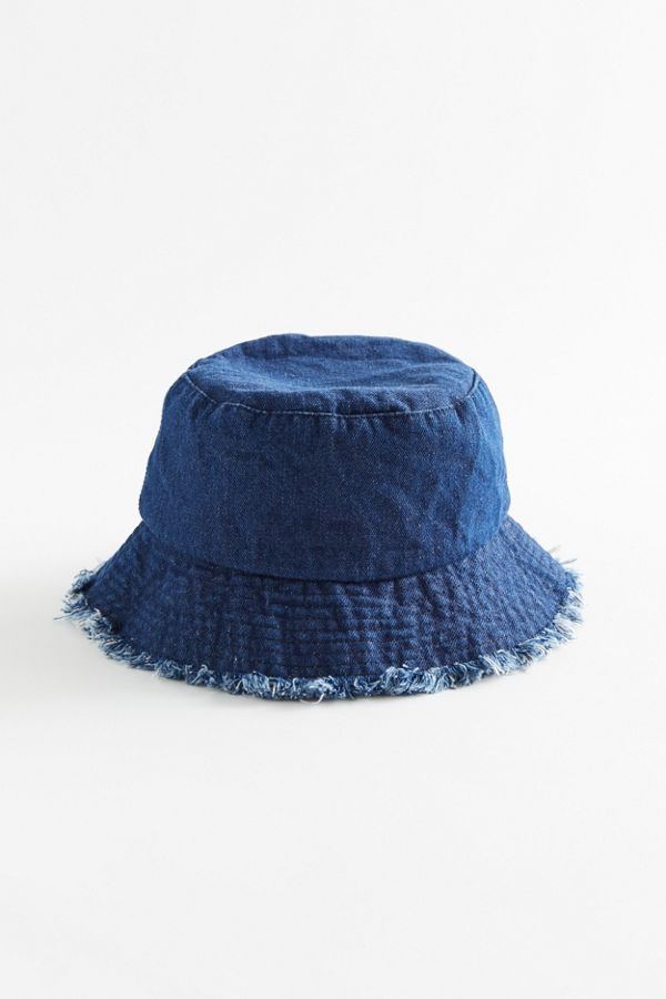 Uo Frayed Canvas Bucket Hat Urban Outfitters Bucket Hat Fashion Outfits With Hats Cute Bucket Hats